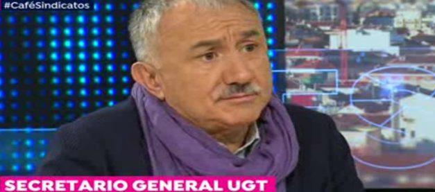 Pepe Álvarez llama a participar en el 1 de mayo para exigir soluciones a los problemas de la gente