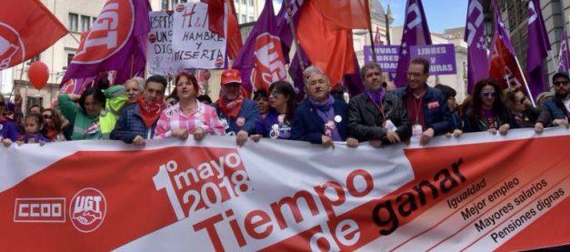 Decenas de miles de personas, en toda España, se movilizan para recuperar derechos