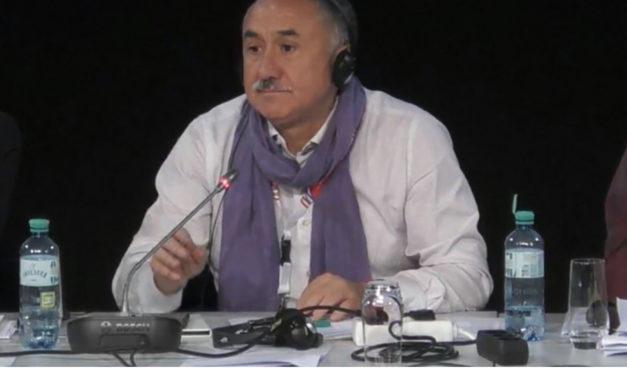 Pepe Álvarez, elegido Vicepresidente de la Confederación Europea de Sindicatos, CES