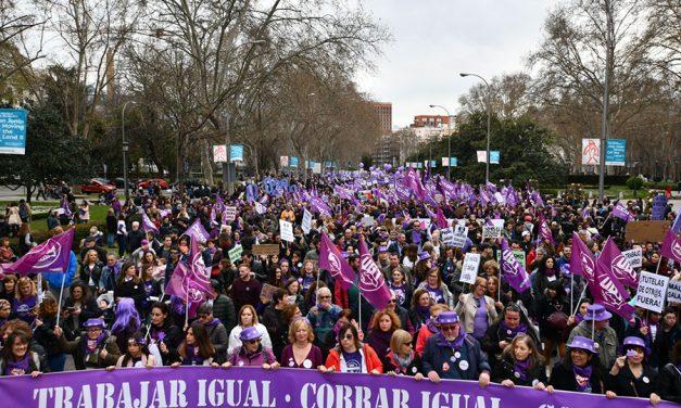UGT en las multitudinarias movilizaciones de toda España para pedir la igualdad real